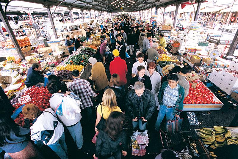 queen v market